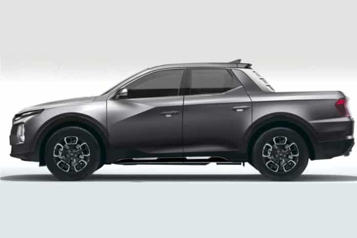 Hyundai will soon debut the Santa Cruz, its first pickup truck.