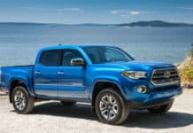 The Toyota Tacoma has the second-lowest, five-year depreciation, according to iseecars.com.