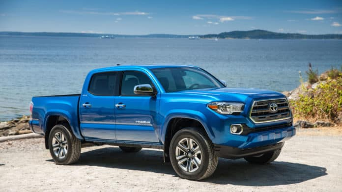The Toyota Tacoma pickup truck has the second-lowest, five-year depreciation, according to iseecars.com.