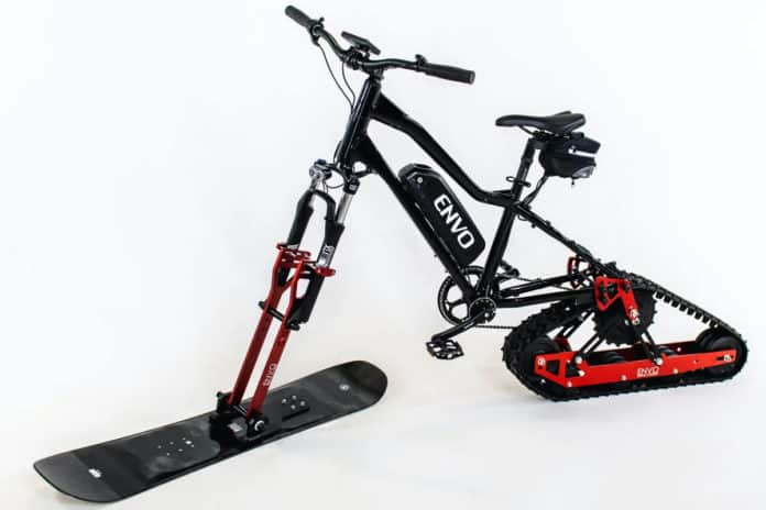 Envo Electric Snow Bike