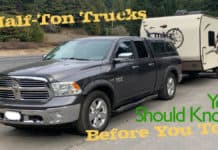 Half-ton towing safety