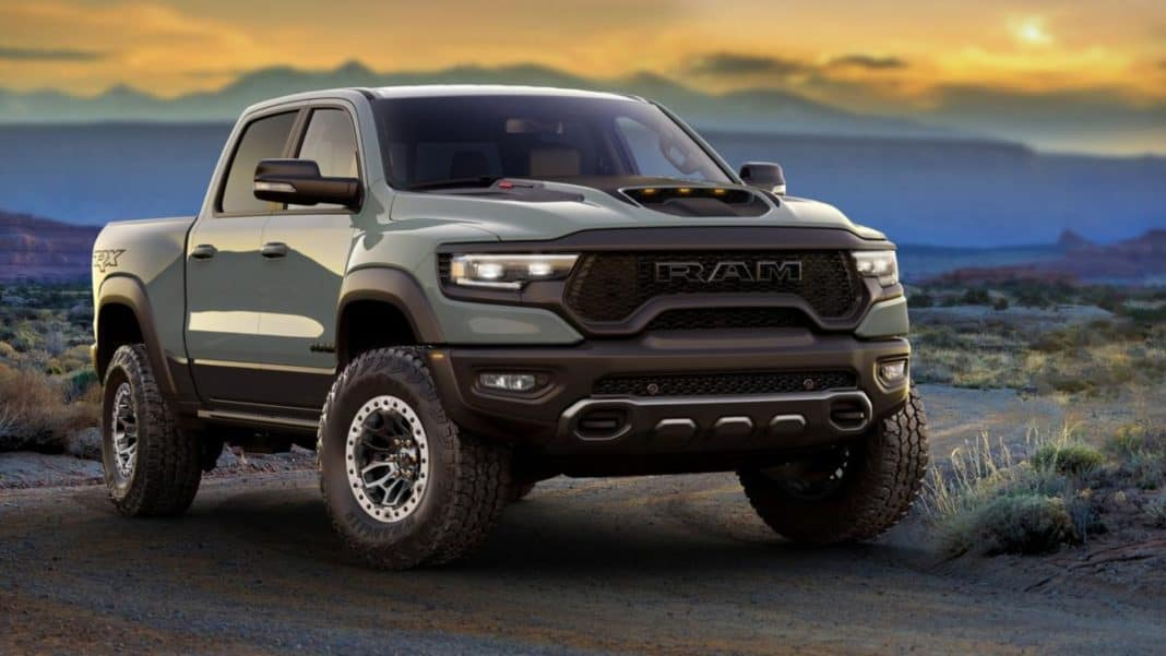 Production of the 2021 Ram TRX 150 has started.