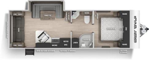 Cherokee Grey Wolf Floor Plan