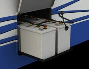 battery watering system