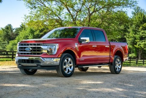 The 2021 Ford F-150 pickup truck gets more honors