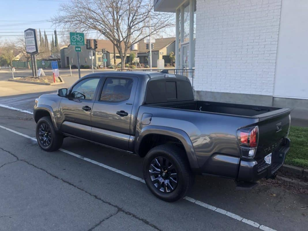 The 2021 Toyota Tacoma is the first year of the Nightshade Edition.