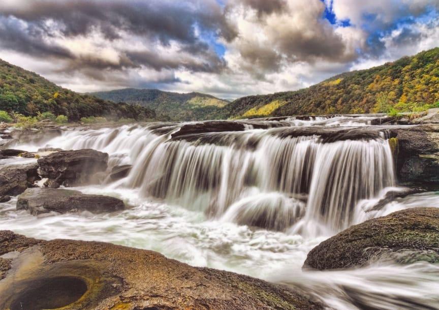 Sandstone Waterfall