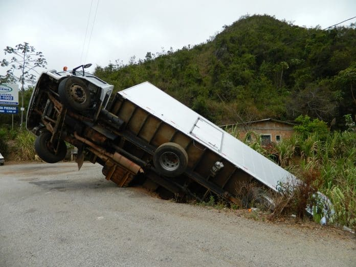 Truck accidents are on the rise.