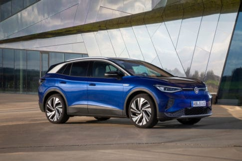 The new Volkswagen ID.4 all-electric SUV