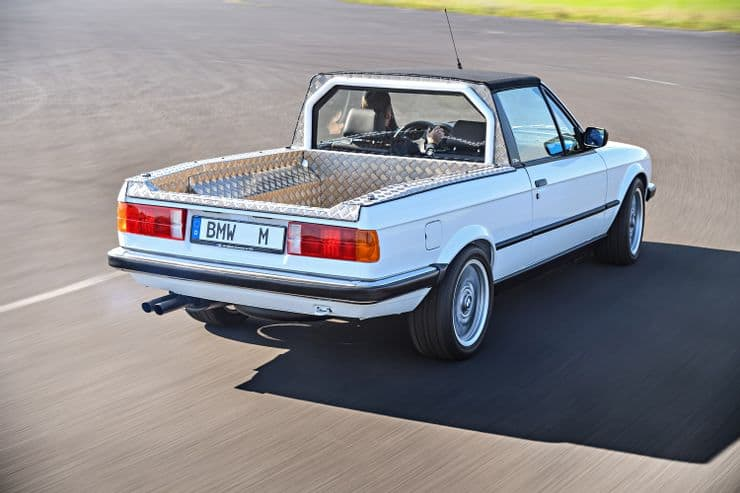 BMW madt two versions of its pickup truck