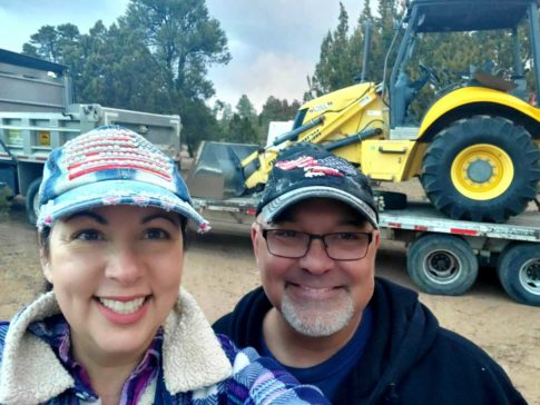 owners during construction of an RV park