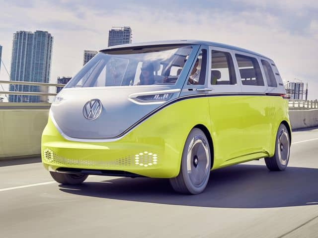 The pending Volkswagen microbus.