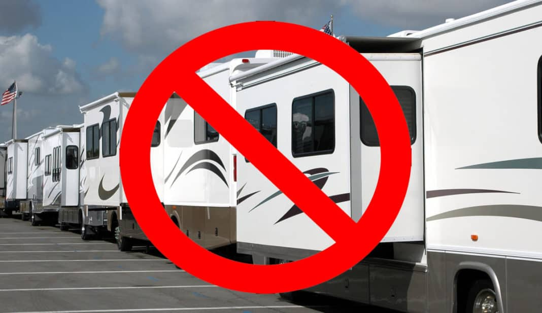 RV show doesn't go on