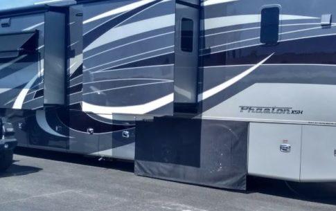 screen RV tire covers