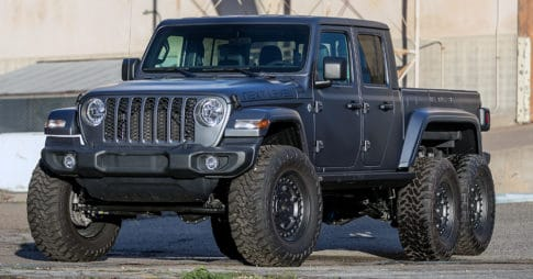 Next Level is offering its first vehicle, Jeep Gladiator 6x6.