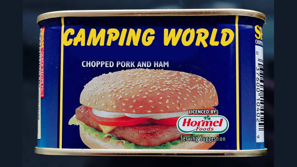 spam from Camping World