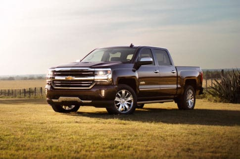 Three-year-old Brown pickups trucks have the highest depreciation percentage via exterior color among pickup trucks.
