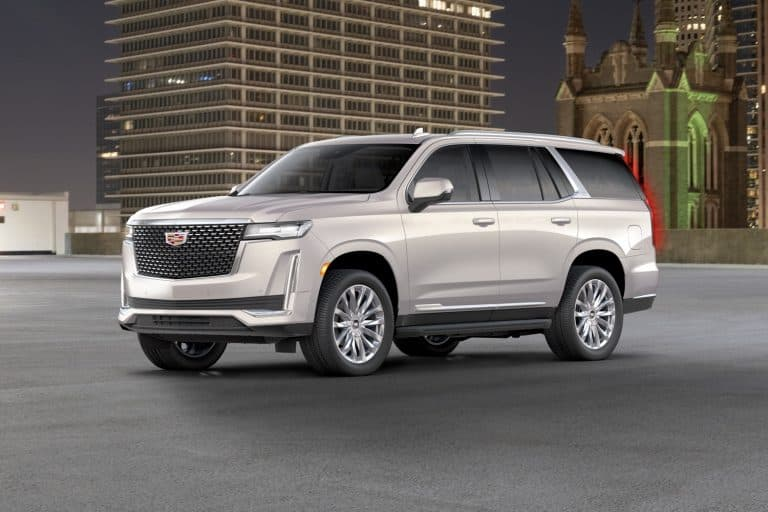 The 2021 Cadillac Escalade is new and pricey