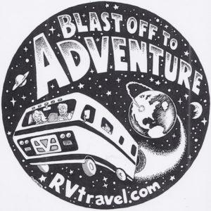 Blast off Logo