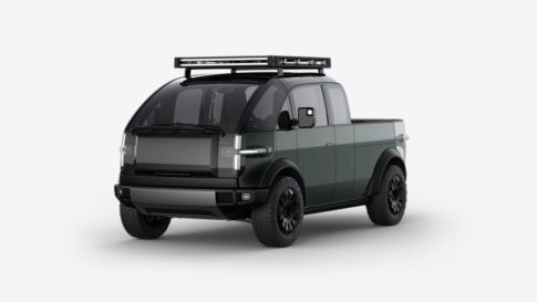 The new electric Canoo will have a starting price of just under $35,000.