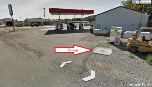 applications of Google Earth - Fuel Station