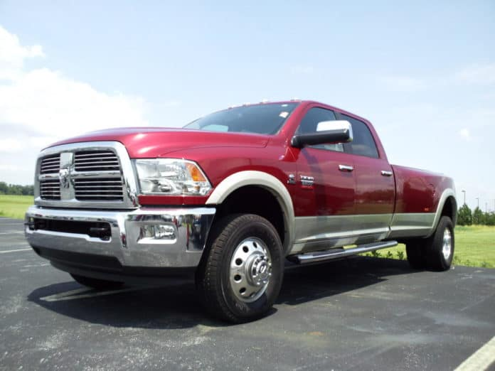 More than 500,000 Ram pickup trucks have been recalled because the wheels can fall off.