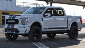 The 2021 Shelby F-150 takes the traditonal famed pickup to extremes.