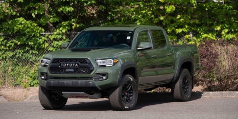 The one millionth Toyota Tacoma made will be auctioned Aug. 12-14 during Monterey Auto Week.