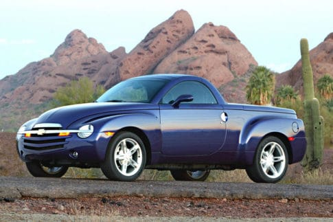 The Chevrolet SSR was highly but less than 25,000 were made and the was discontinued in 2006.