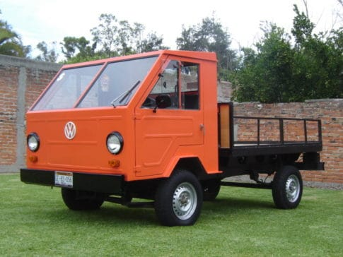 The Volkswagen Basis-Transporter had a playload of 2,205 pounds.