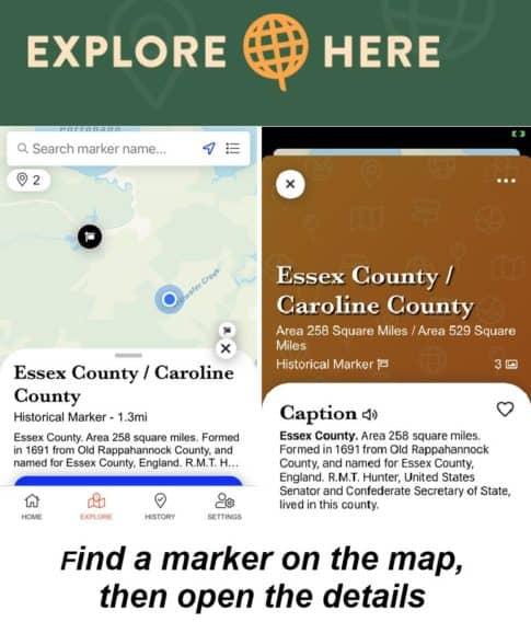Explore Here app