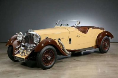 Charlie Watts, the deceased Rolling Stones' drummer, owned many rare cars including a 1937 Lagonda Rapide Cabriolet.