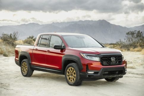 Sales of the Honda Ridgeline have tumbled in recent years.