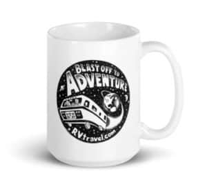 RVtravel coffee mug