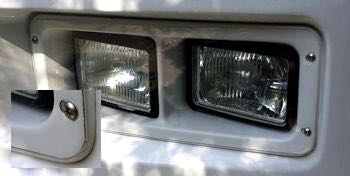 RV Mods: Protect your headlights!