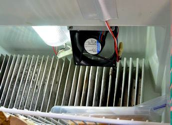 Help your fridge do its best work with a circulation fan