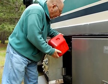 How to full-time RV on a small budget by conserving fuel