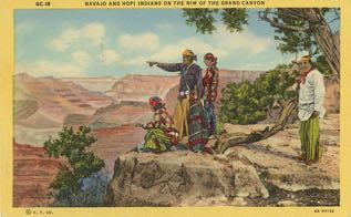 When people discovered the world through postcards