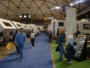 The good and the bad of attending an RV show