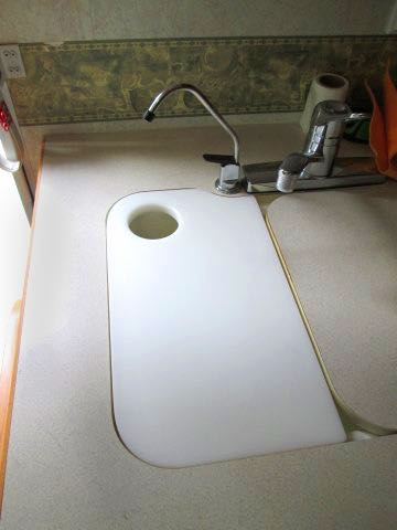 Make your own custom sink-matched cutting board