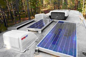 Solar RVing in the shade