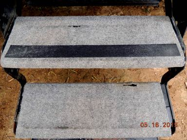 Save money – extend the life of your entry step covers