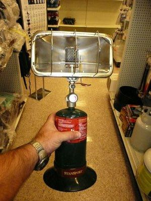 Using a propane heater in your RV? Be careful!